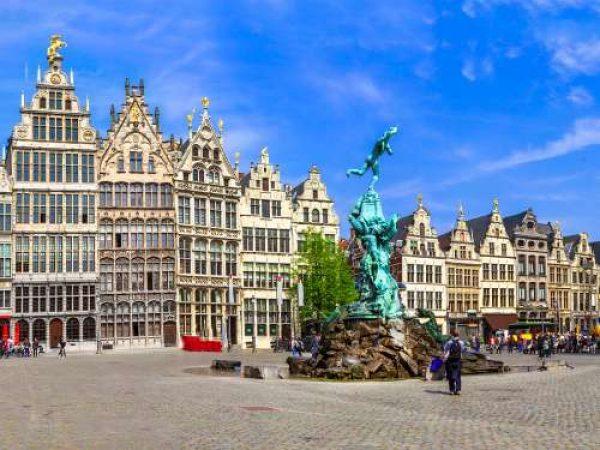 Cruise langs Antwerpen en Londen